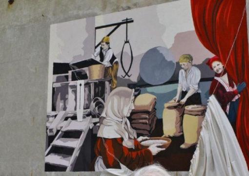 Mede, inaugurato il murales rurale